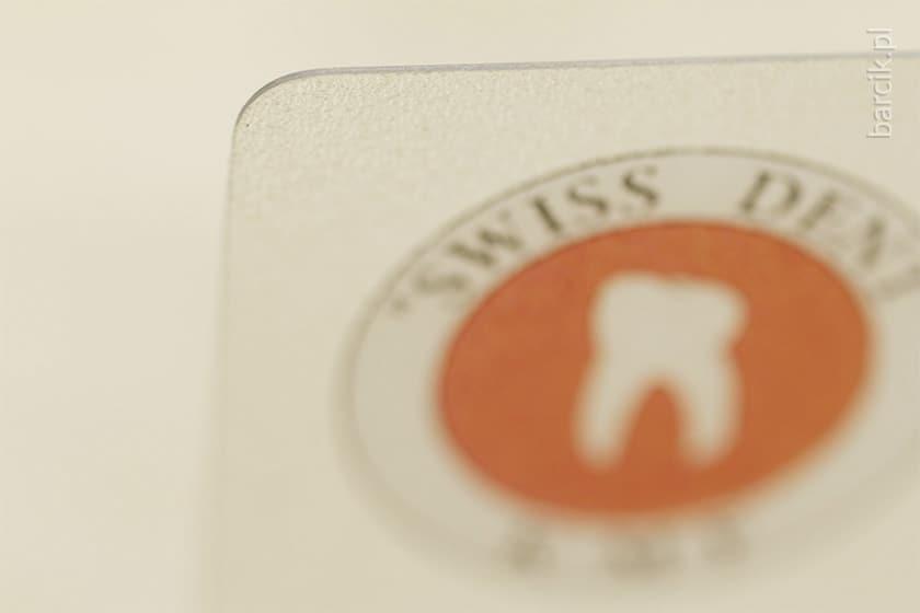 Karty plastik przeźroczyste PCV 0,5 mm, druk jednostronny, 85 x 55 mm zaokrąglone narożniki | barcik.pl