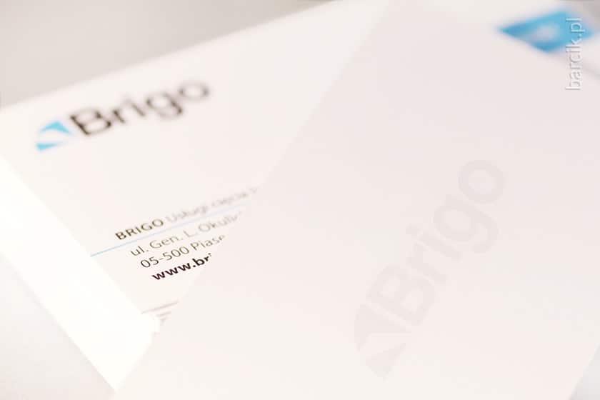 Wizytówki offsetowe 90 x 50 mm, kreda mat 350 g, folia matowa dwustronnie + lakier wybiórczy UV dwustronnie | barcik.pl