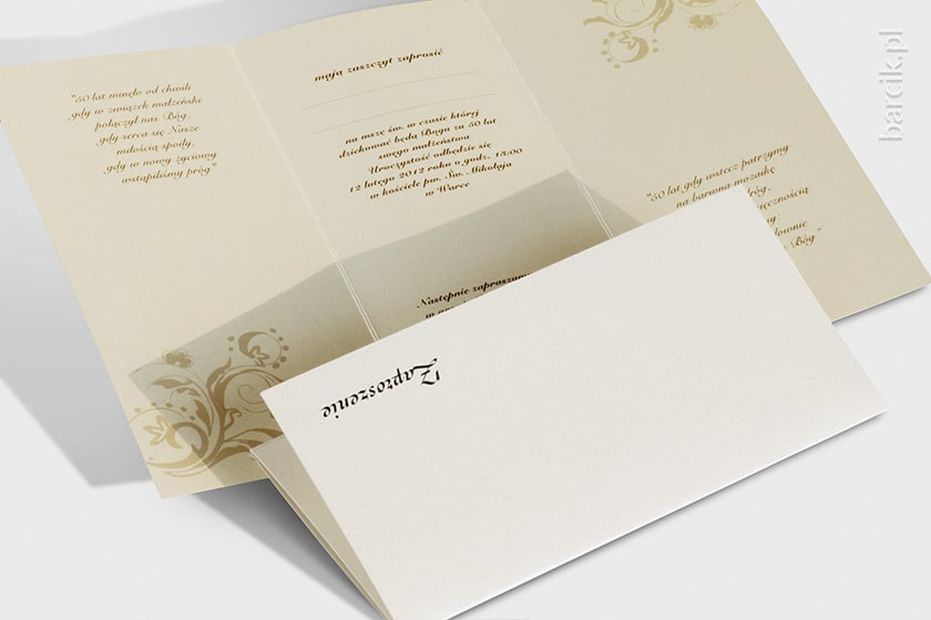 DECORATIVE INVITATION CARDS