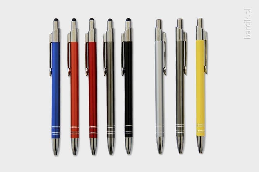 Długopisy do grawerowania oferujmy w wielu modelach i wersjach kolorystycznych