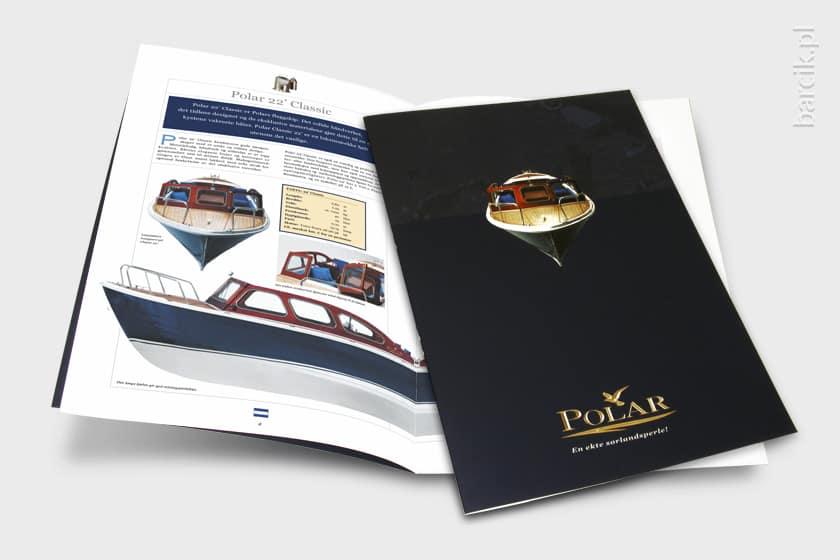 Katalog firmowy A4, okładka foliowana mat