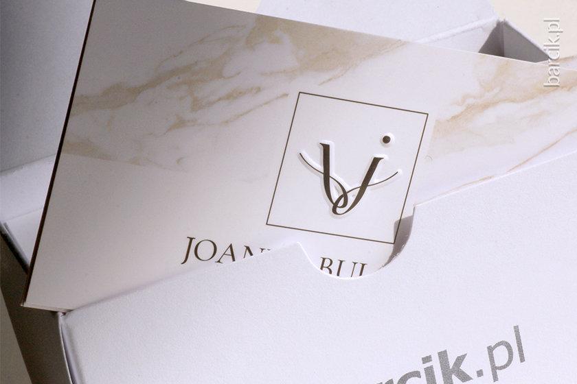 Wizytówka premium z tłoczonym logo