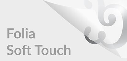 Wizytówki foliowane Soft Touch