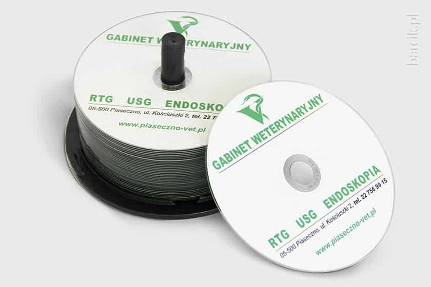 Your design or logo will be printed directly onto the disc