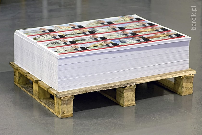Save money by printing multiple files on one flat sheet