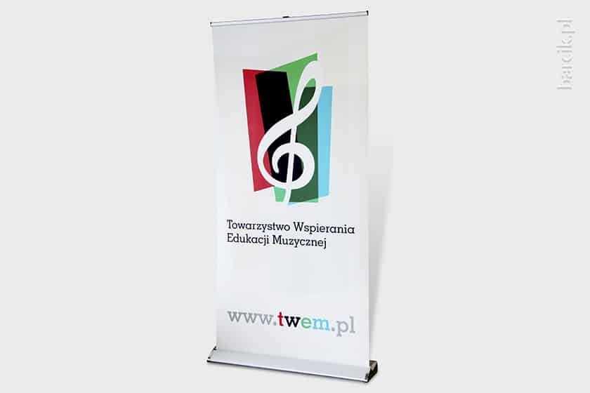 We will take care of both design and printing of your roller banners